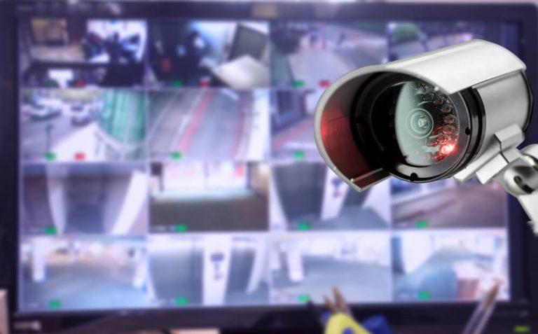 מצלמות אבטחה דמה סוללות