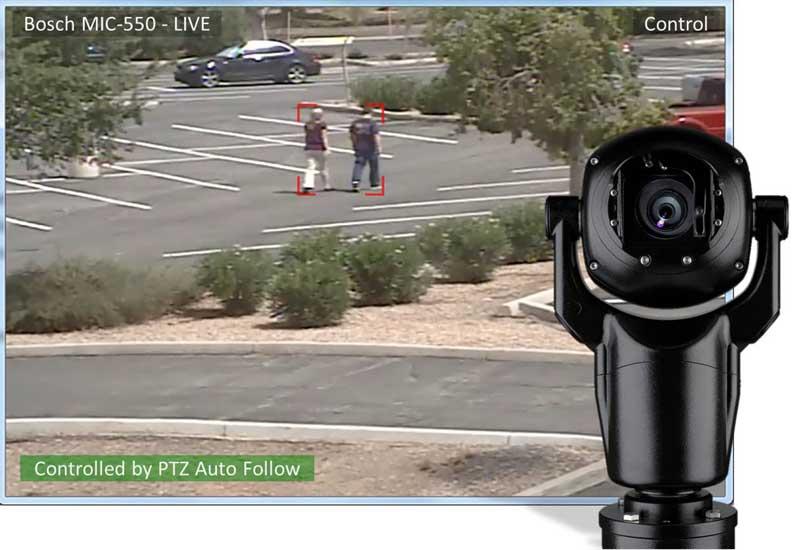 מצלמות אבטחה ביתיות PTZ