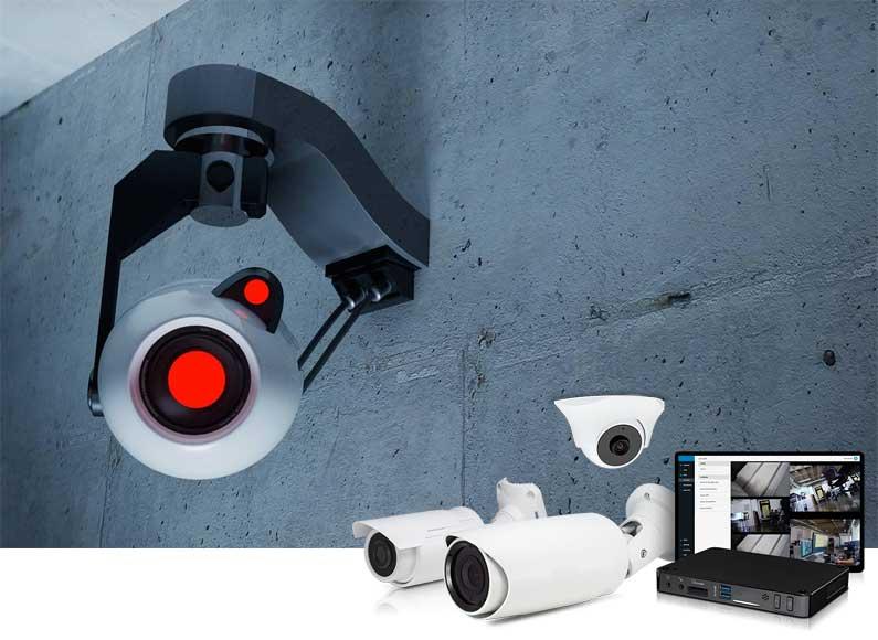 מערכת מצלמות אבטחה ממונעות PTZ
