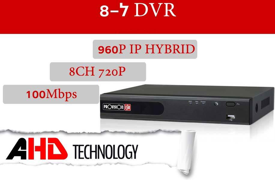 מכשיר DVR ל-8 מצלמות