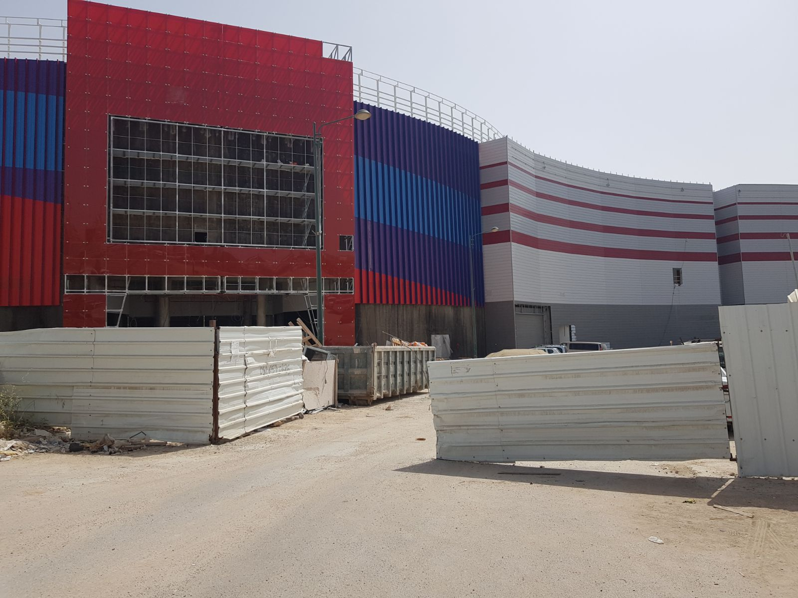 פרויקט סינמה סיטי באר שבע