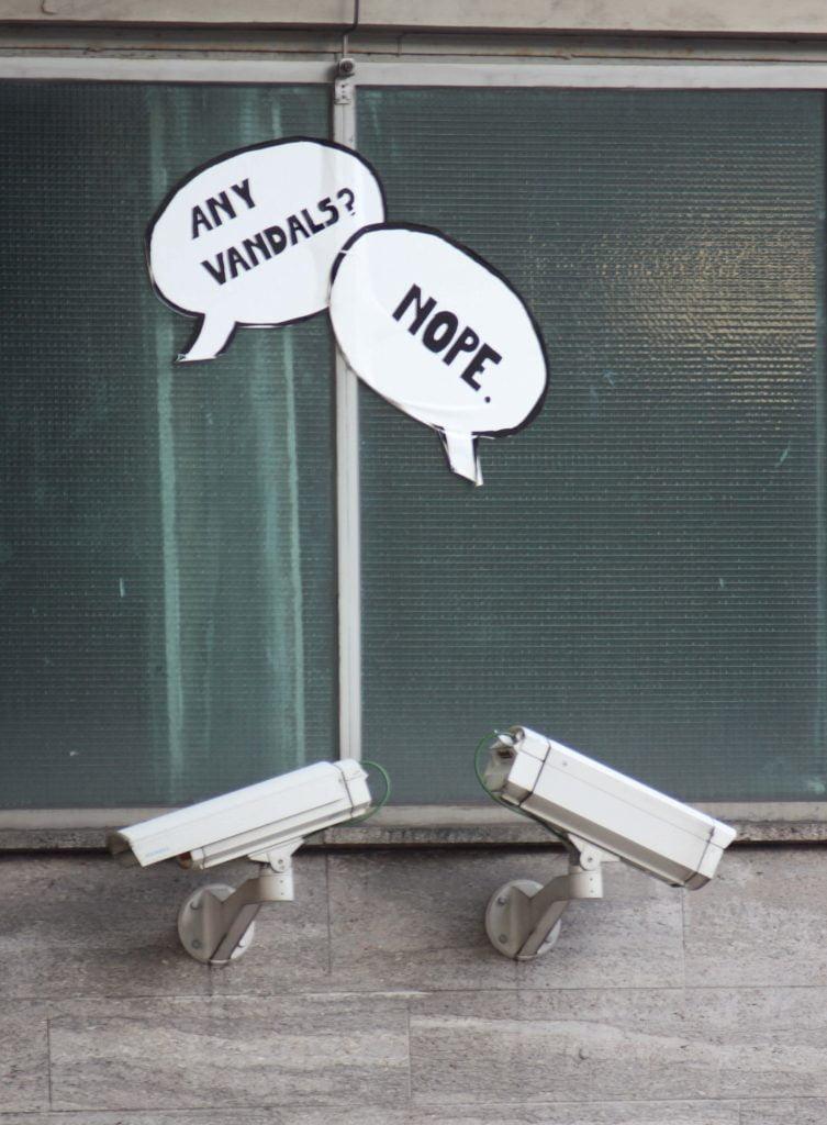 מצלמות אבטחה אנטי ונדל
