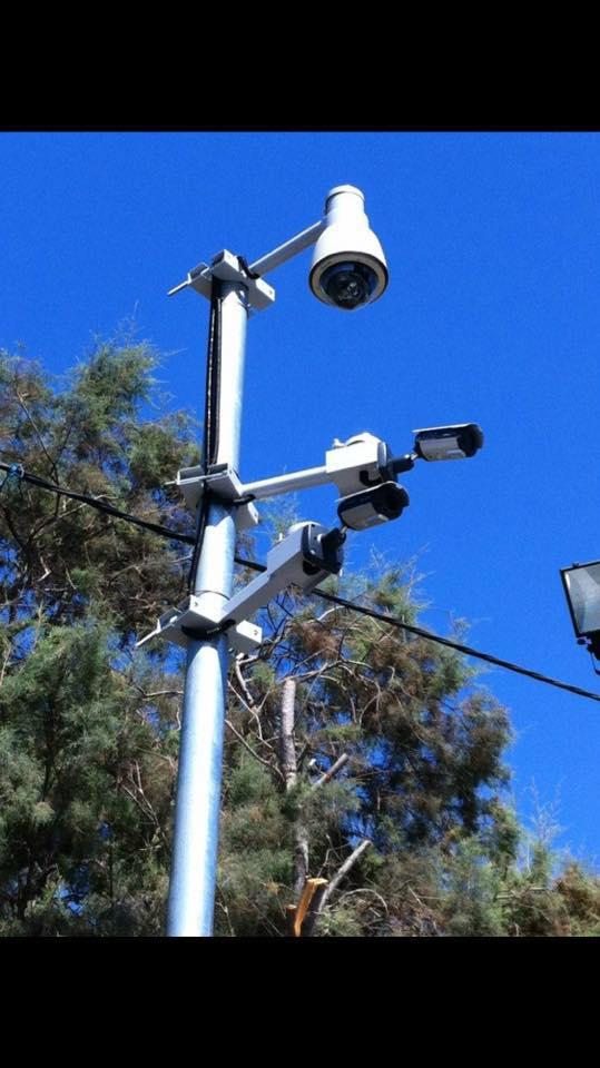 התקנת מערכת מצלמות אבטחה בעסק