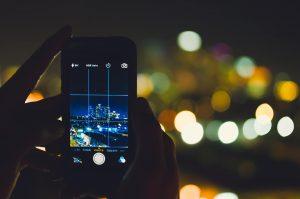 טלפון חכם מצלמת אבטחה נסתרת