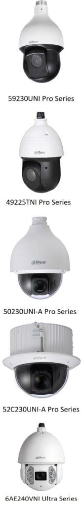 מצלמות אבטחה PTZ מביתDahua