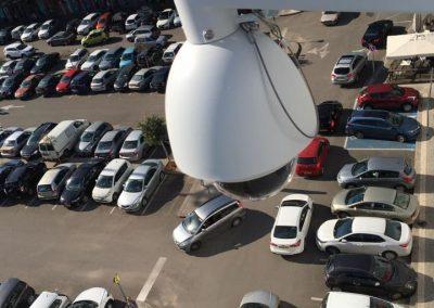 התקנת מערכת מצלמות אבטחה בחניונים ( + זיהוי לוחיות רישוי LPR)