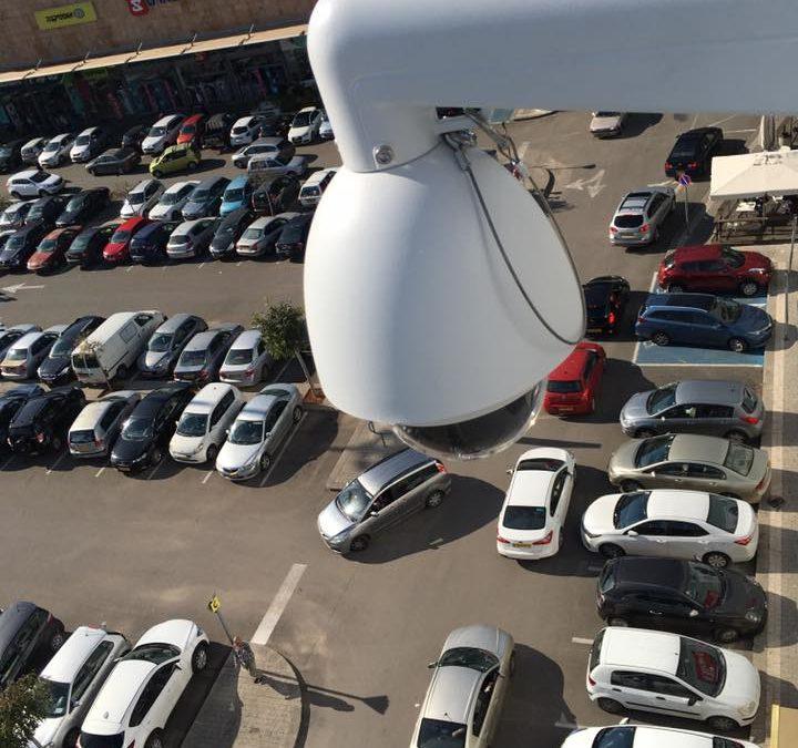 התקנת לינקים אלחוטיים למצלמות אבטחה IP