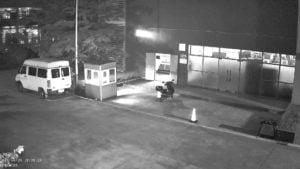 מצלמות אבטחה עם ראיית לילה לעסק